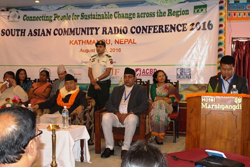 Community radio voice of people: Vice President