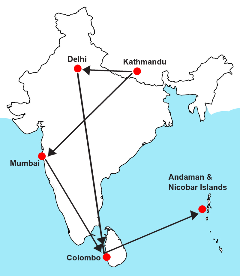 Nepali women trafficked via Andaman and Nicobar also