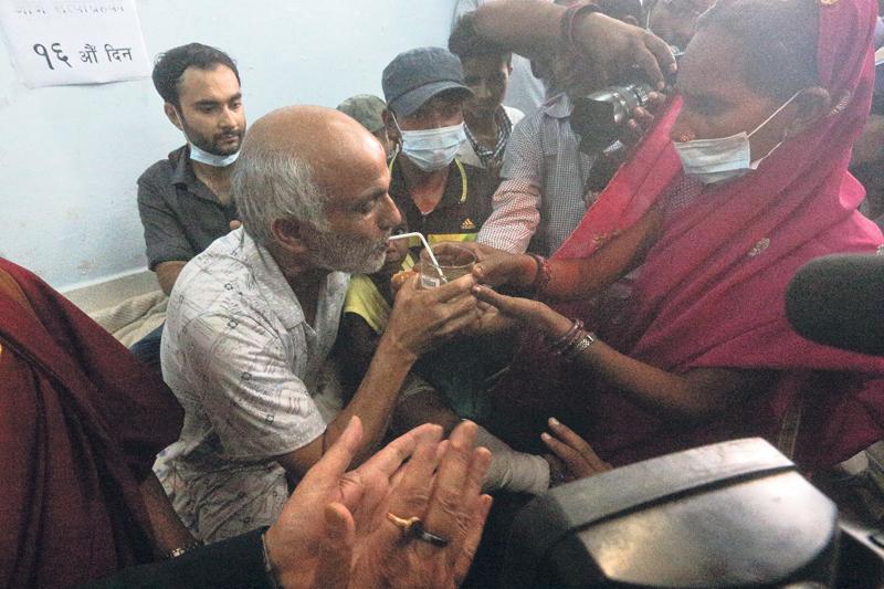 Dr KC ends hunger strike