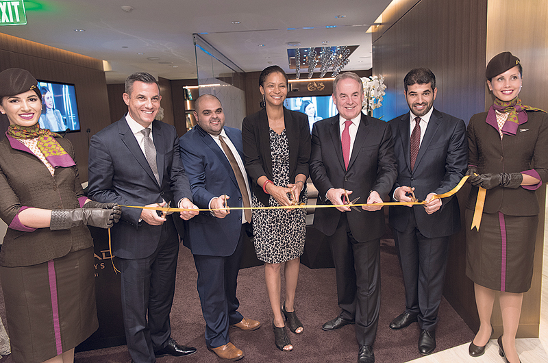 Etihad Airways opens business class lounge in Los Angeles