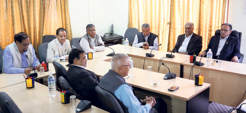 Congress, Maoist Center agree on holding local elections by mid-April