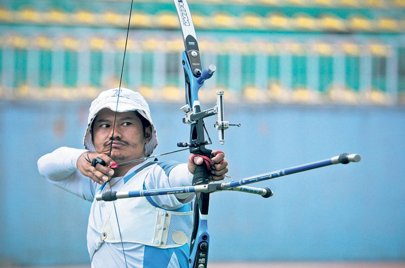 Nepali archery aims second round entry