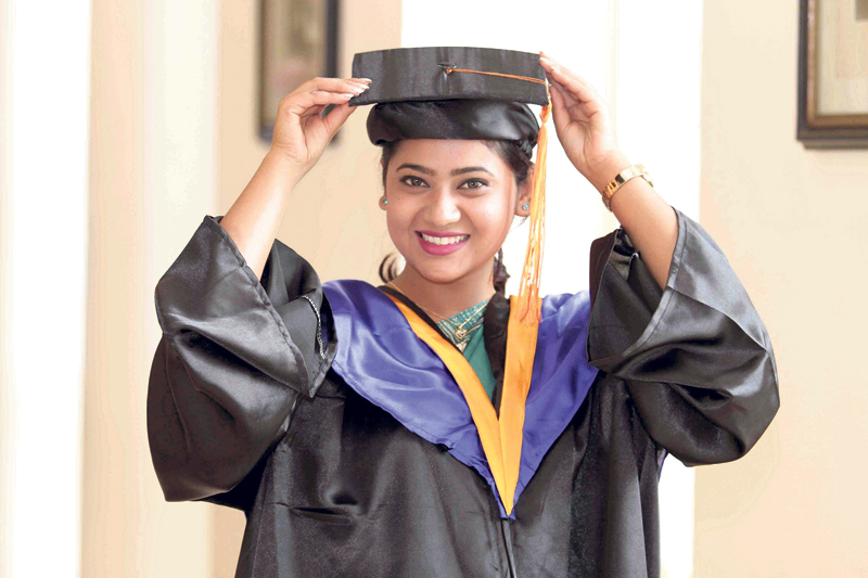 Keki now has an MBA degree