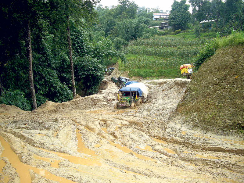 Landslides adding to woes of commuters