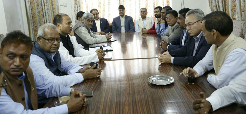 NC, CPN (MC), UDMF leaders  forging common 'road map'