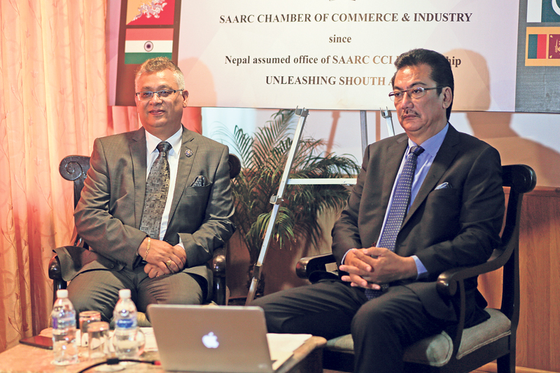 SAARC not only about India: Vaidya