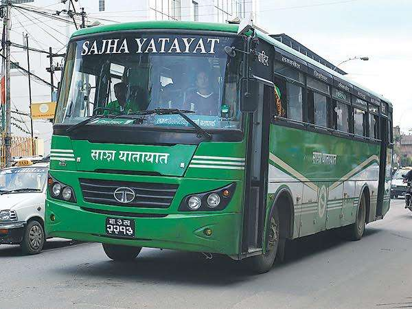 Sajha buses freely plying in capital