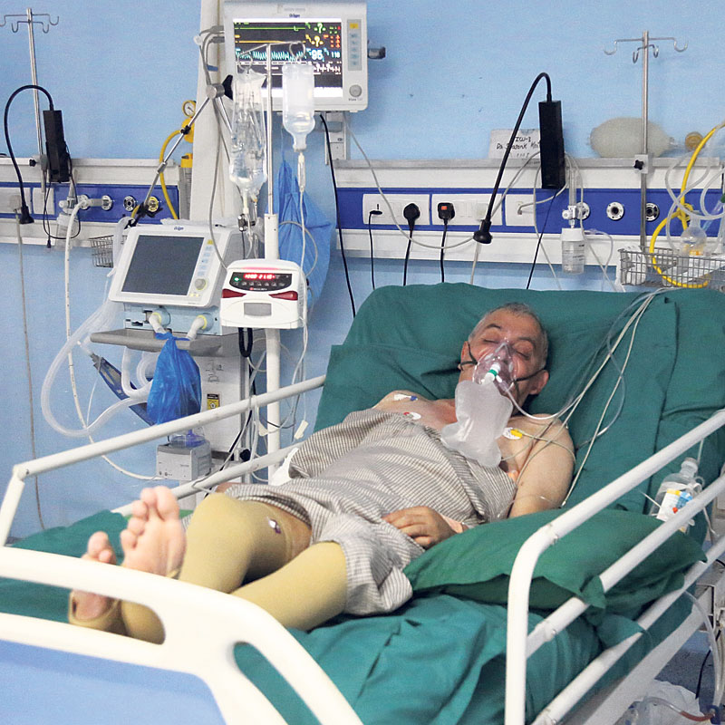 Koirala's condition improving