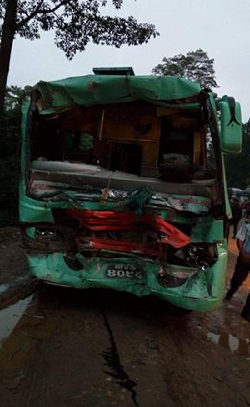 65 injured in Makawanpur bus collision
