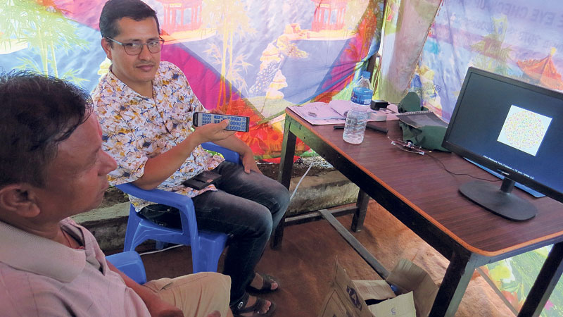 Eyesight tests mandatory for long-distance drivers during Dashain