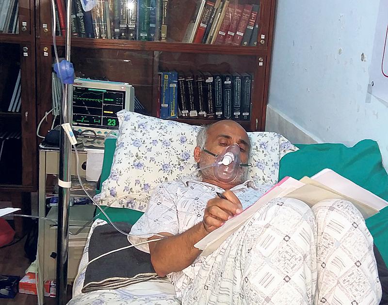 Dr KC interrupts hunger strike on 12th day
