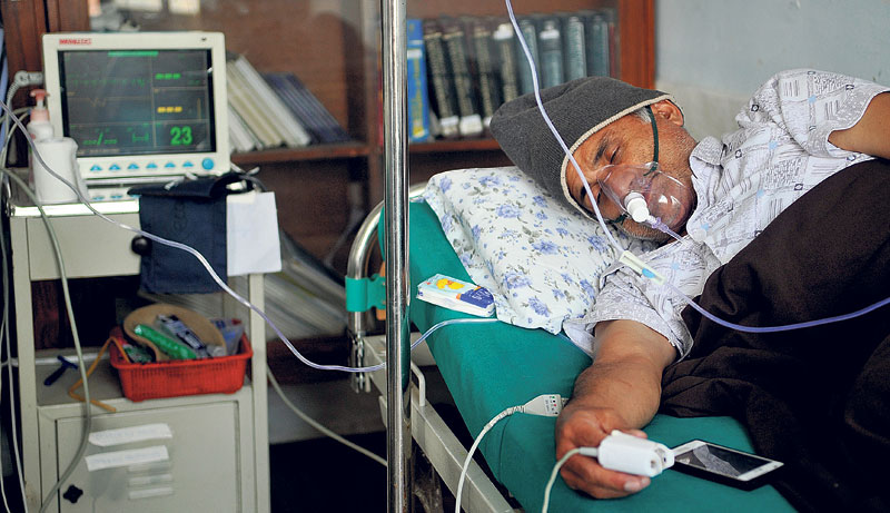 Minister Gagan Thapa urges Dr KC to end fast-unto-death