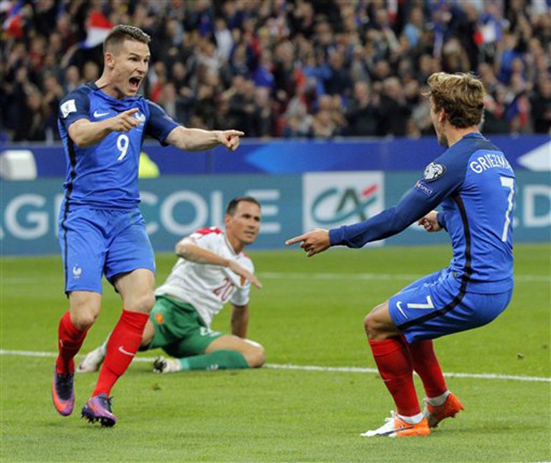 Gameiro and Promes shine for France and Netherlands