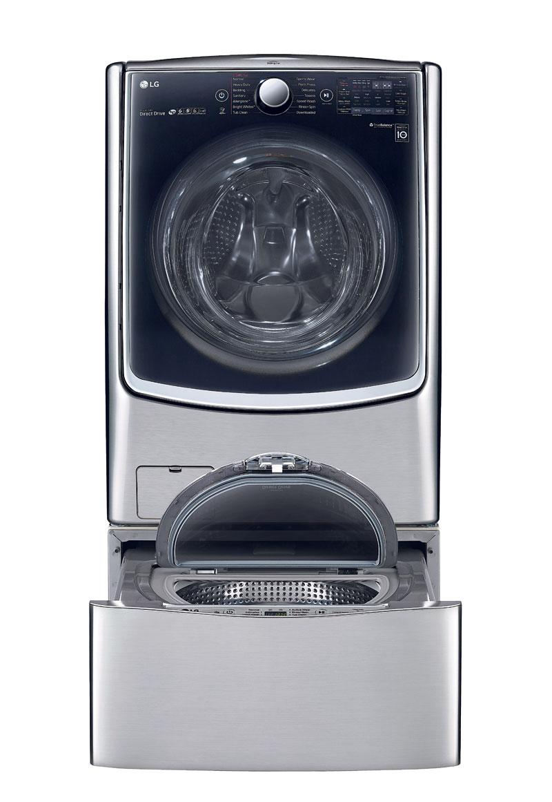 LG launches twin-washing machine