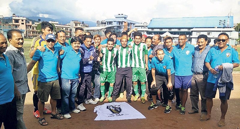 Chyasal wins B Division title, NRT back to top flight - My Republica