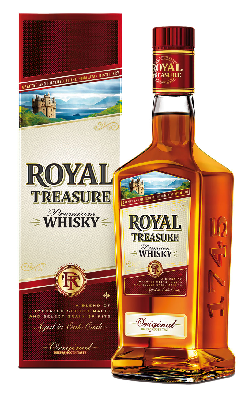 Royal Treasure Premium Whisky launched
