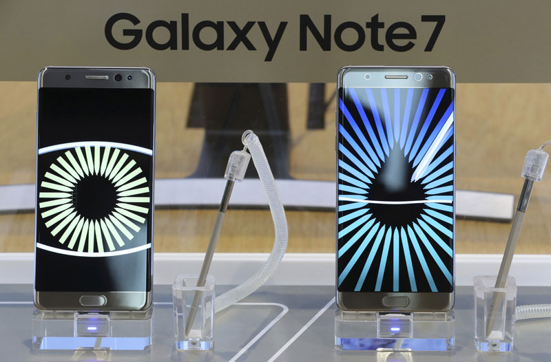 US Gov't bans Samsung Galaxy Note 7 phones from airliners