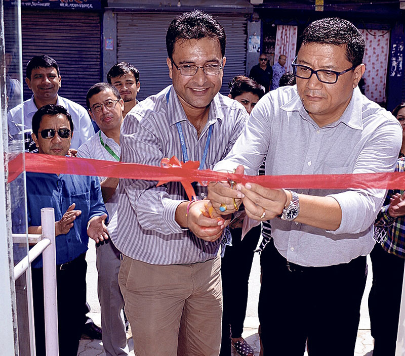 Subisu sales outlet in Dillibazar