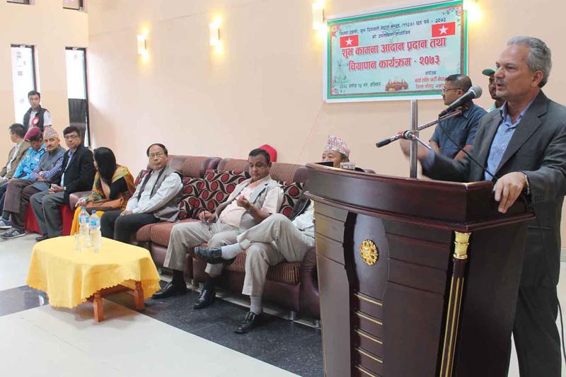 Dr Bhattarai slams PM Dahal for agreement with India