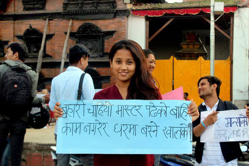 Youth activists raise questions on social stigma
