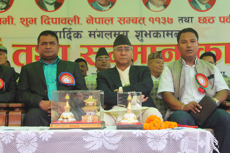 All three elections within stipulated time: Deuba