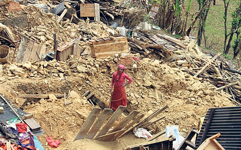Landless earthquake victims deprived of grants