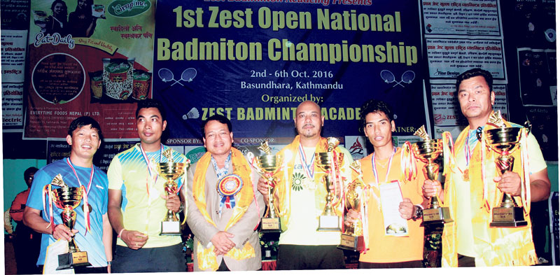 Ratna Jeet Tamang claims badminton title
