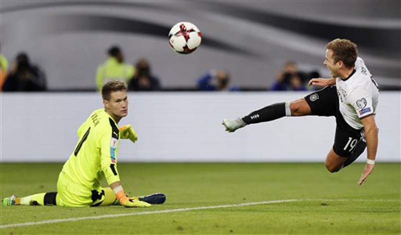 Germany flying, England misfiring in World Cup qualifying