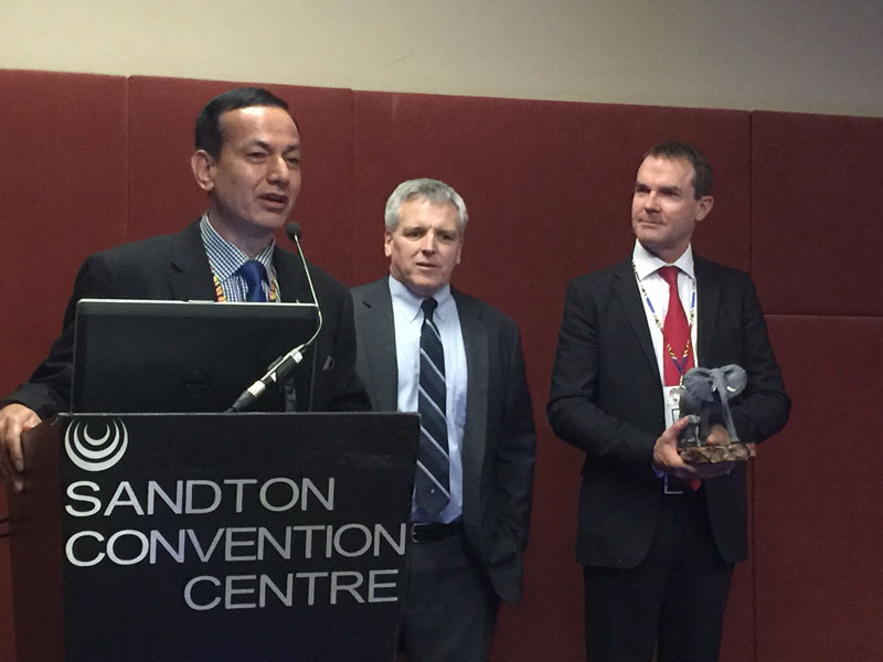 CIB honored with Clark R Bavin award for 'exceptionally' combating wildlife trafficking
