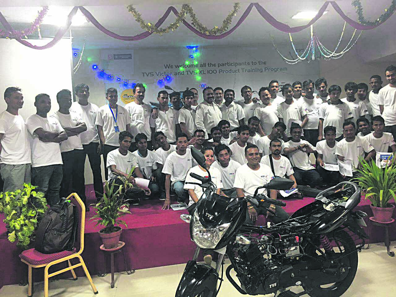 Jagdamba Motors trains staffers