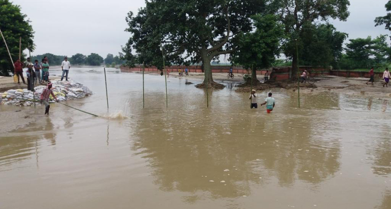 Tension flares as Indian side begins dam construction