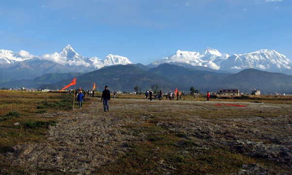 Construction work of Pokhara Int'l Airport starts