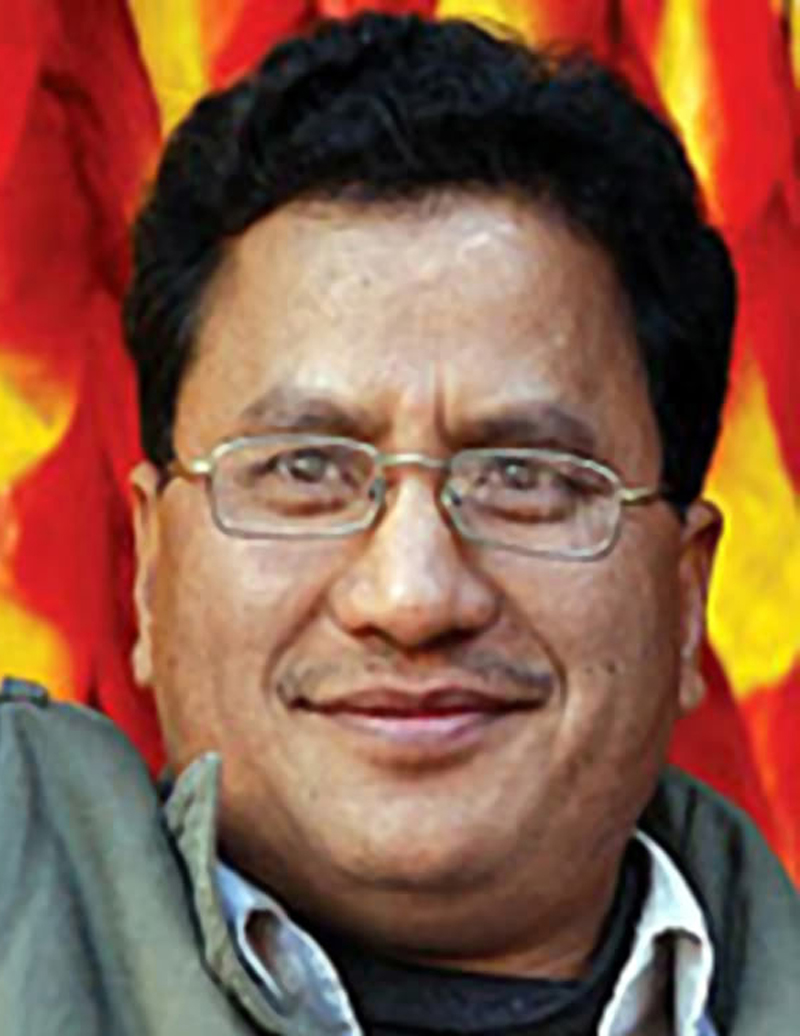Biplab denies his party's role in NC leader Shah's murder