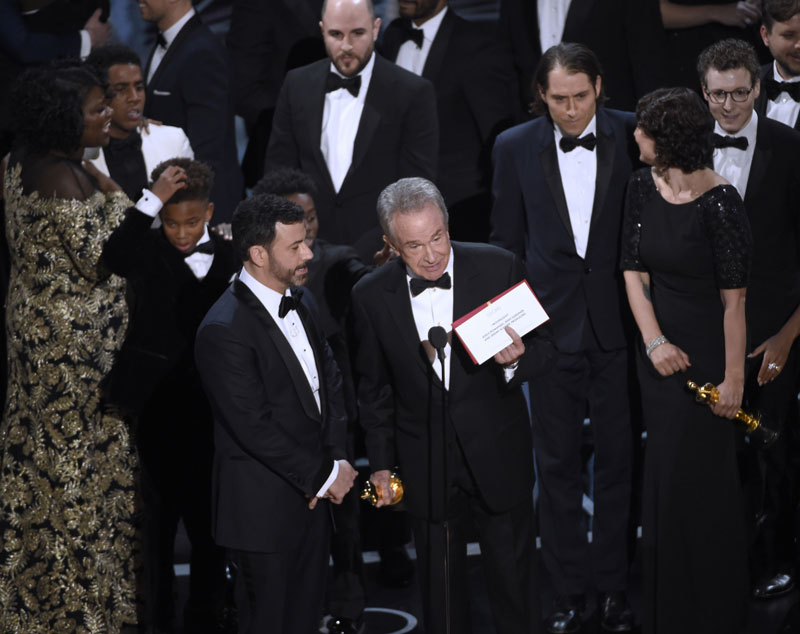 'Moonlight' wins best picture Academy Award (photo feature)