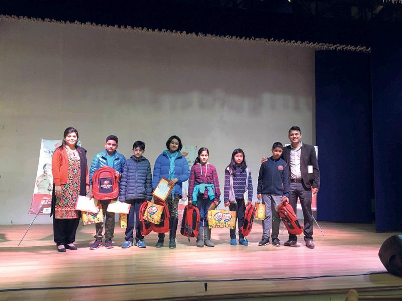 Dabur Nepal winter season school campaign concludes