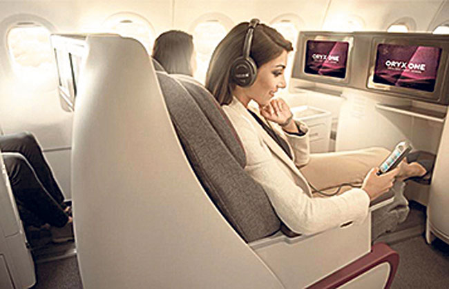 Qatar Airways gets award for on-board entertainment