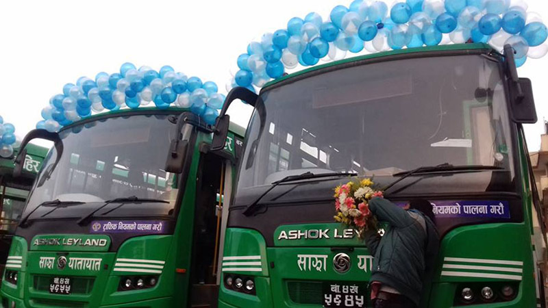 Sajha to operate 20 new buses outside KTM Valley