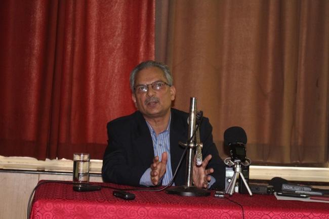 Naya Shakti coordinator Dr Bhattarai calls on PM