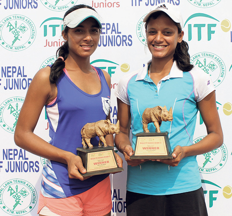 Indian players clean sweep doubles event in circuit II