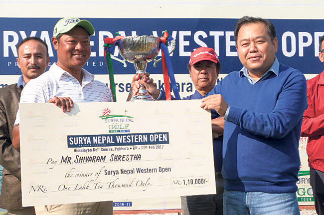 Shivaram lifts Surya Nepal Western Open, wins third title of season