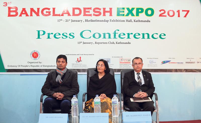 Nepal-Bangladesh Expo from Tuesday