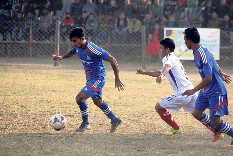 APF, Jhapa XI to vie for title