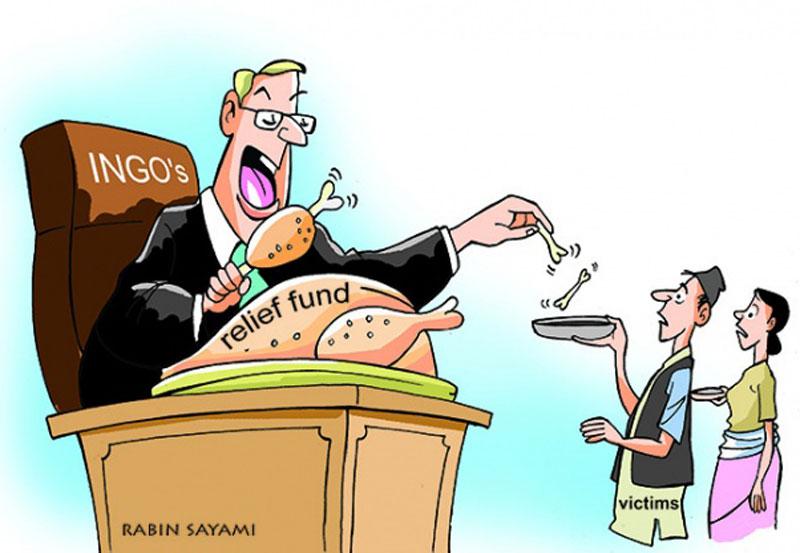 NGO excesses