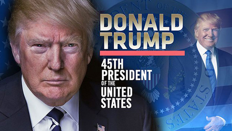 Infographics: Donald Trump is the 45th US President
