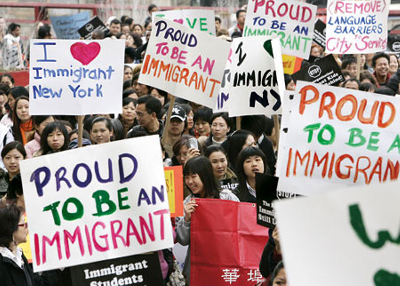 Infographics: The United States is a nation of immigrants