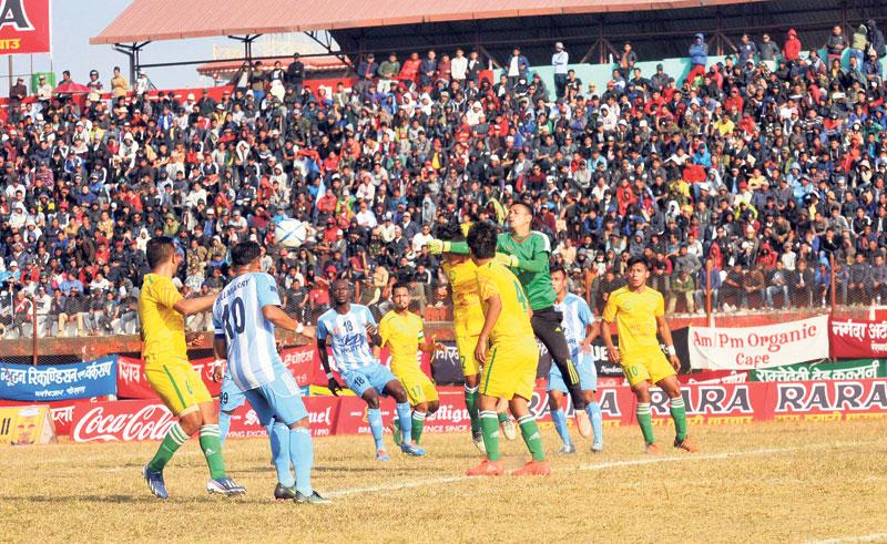 MMC thumps Dharan to enter semis