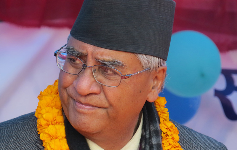 New government after local level election: NC president Deuba