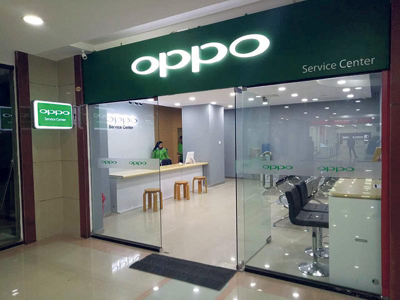 OPPO opens service center in Kamalpokhari