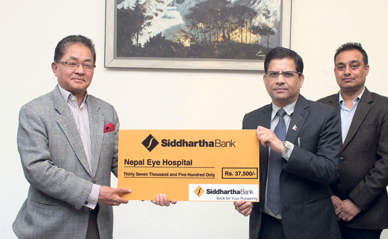 SBL supports eye patients