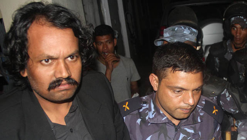 CK Raut to be produced before court, security beefed up in Lahan